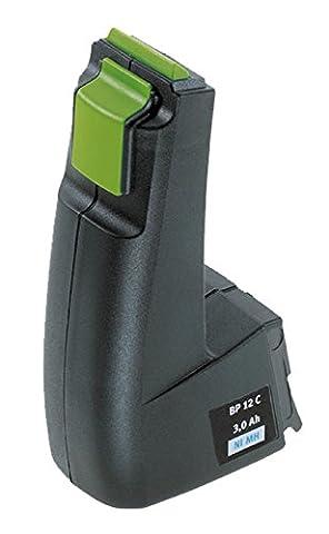 Amsahr Power Tools Batterie de rechange pour FESTOOL BP CDD9, 6, BPH9,6C, FSP-487512, FSP488437-(3.0Ah, 9,6V), 1pièce,, fet9.6(A)