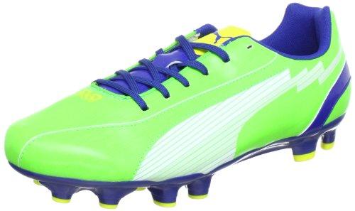 Puma  evoSPEED 5 FG, Chaussures de football homme Vert - Grün (jasmine green-monaco blue 06)