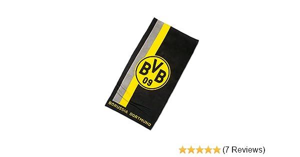 Borussia Dortmund BVB 09 BVB-Handtuch mit Logo im Streifenmu