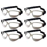 6PCS / Pack Baloncesto Dribble Gafas, Mejor Control de Bola bloquea la visión de la Cintura Abajo