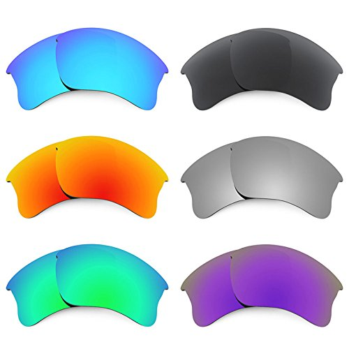 Revant Ersatzlinsen für Oakley Flak Jacket XLJ Polarisiert 6 Paar Kombipack K024
