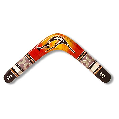 Unbekannt Boomerangfan boomerangfanoriginalfalcon-l 37cm Original Falcon Linkshänder Boomerang