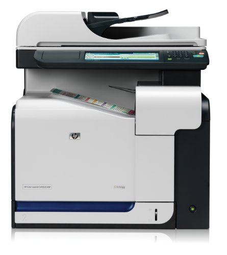 HP LaserJet CM3530 e-All-in-One Farblaser Multifunktionsdrucker (A4, Drucker, Scanner, Kopierer, Wlan, Ethernet, USB, 600x600)