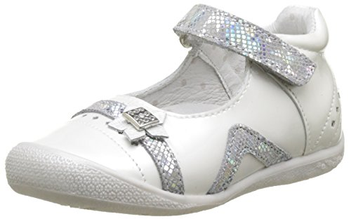BabybotteSakarine - Pantofole a Stivaletto Bambina , bianco (Bianco (Blanc)), 26 EU