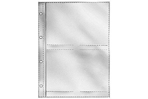 fotohuellen 13x18 REIF-Fotohüllen 11830, für 2 x 2 Bilder 13 x 18 cm, Inh. 25 Hüllen