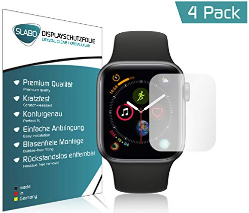Slabo 4 x screen protector for Watch Series 4 (40mm) protection film Crystal Clear