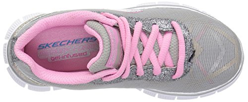 Skechers Appeal Gimme Glimmer, Sneakers Basses Fille Gris (Gymt)