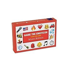 Bubblegum Stuff B07F19B7B1 Name The Emoji-Music Juego de Cartas