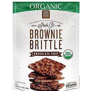 Sheila G's Organic Brownie Brittle in 454g Bag - Chocolate Chip