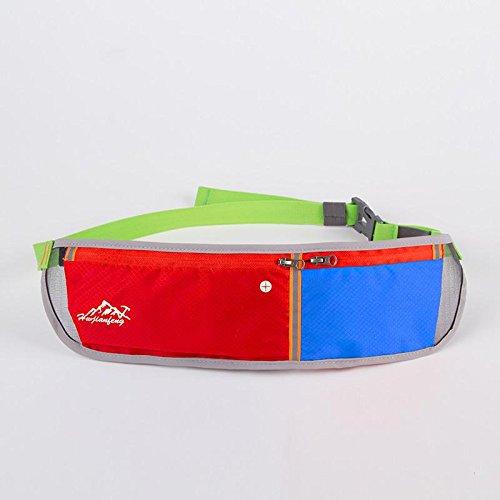 FFZH Doppia tasca Borsa unisex design, borsa di sport all'aria aperta e accessori bag , 4 2