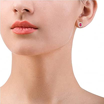 PC Jeweller The Lela 18KT Yellow Gold, Diamond & Gemstone Earring