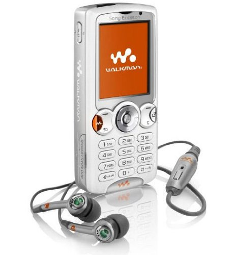 Sony Ericsson W810i Fusion White Handy