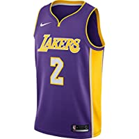 Nike NBA Los Angeles Lakers Lonzo Ball 2 2017 2018 Icon Edition Jersey Official Kobe Bryant