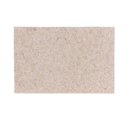 Tisch-Set FELIA Filz, 45×30 cm, 4 mm stark, beige