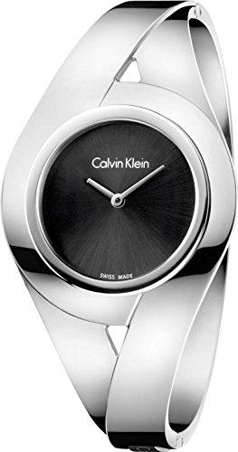 Calvin Klein Orologio Analogico Quarzo da Donna con Cinturino in Acciaio Inox K8E2S111