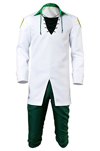 s Meliodas Outfit Cosplay Kostüm Weiß Herren XXXL (Sevens Kostüme)
