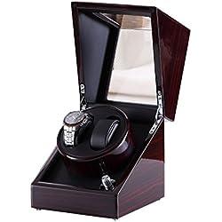 [Pure handgefertigt] Uhrenbeweger mit japanischen Mabuchi Motor schwarz ...