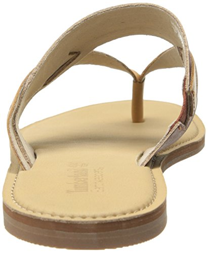 TIMBERLAND femme tongs 8725A Sheafe Thong cuoio-marrone