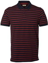 SELECTED - T-shirt - Homme Bleu marine