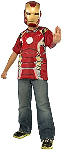 Iron Man T-shirt Costume - Rubies Iron Man