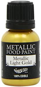 Rainbow Dust Metallic Paint Light Gold
