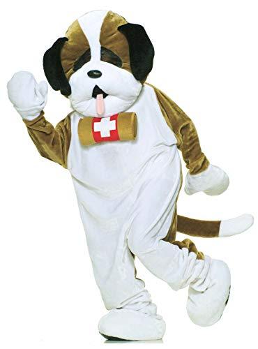 Forum Deluxe Puppy Dog Mascot Adult Costume Standard (Adult Puppy Kostüm)