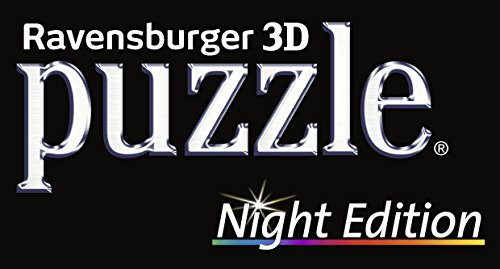 Ravensburger-12566-1-Empire-State-Building-bei-Nacht-Night-Edition-3D-Puzzle-Bauwerke-216-Teile-Puzzle