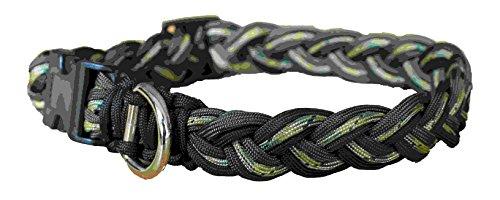 LEASHES by Liz Hundehalsband, aus Cord Camo Grün. Platoon, extra groß, 38,1–76,2cm