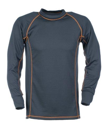 baleno-maglia-da-uomo-con-cuciture-piatte-a-contrasto-hudson-uomo-grigio-xxl