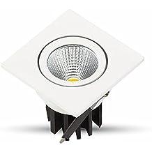 V-TAC 1185 iluminación de techo - Lámpara (Interior, Plaza, Empotrada, Dormitorio, Salón, Oficina, Blanco cálido)
