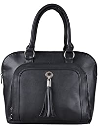 Osaiz PU Leather Formal Small Size Zipper Style Hand Bag With 5 Compartments  For Women  264f1a9373600