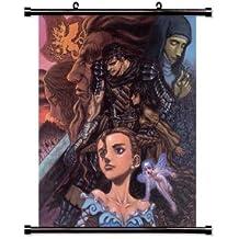 "Berserk Anime Fabric Wall Scroll Poster (32""x 38pulgadas)"