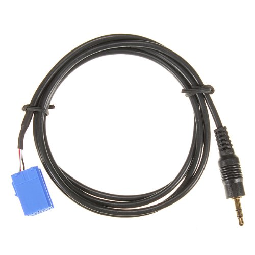 Audio Cable - TOOGOO(R)Aux cable adaptateur d'interface d'entree pour Blaupunkt Autoradio Ipod Mp3 Jack 3.5mm