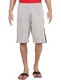 Crystal Men's Short (Ct-Bu33-17-Comfot Shorts-Lgr_Grey_Medium)