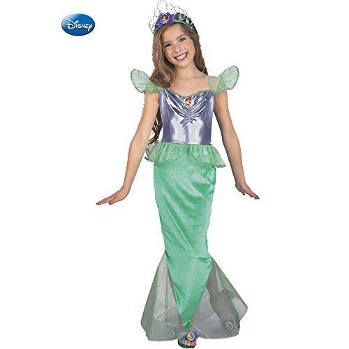 La Sirenita Ariel Disney niño disfraz de estándar