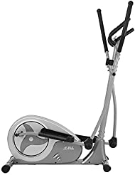 JLL® CT300 Home Elliptical Cross Trainer, 2019 Magnetic Cardio Workout with 8-level Magnetic Resistance, 5.5KG Two Way Flywheel, Console Display with Heart Rate Sensor and Tablet Holder. Silver