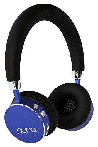 Puro Sound Labs Kids Auriculares inalámbricos, con limitación del Volumen y Bluetooth (Azul)
