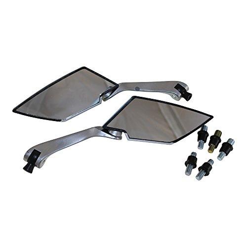 Universalspiegel Spiegel carbon Look M8 für Roller Motorrad z.B. Kawasaki Yamaha Honda Suzuki