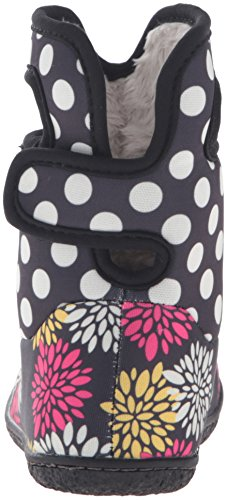 Bogs Baby Bogs Wellies Classic Pompon Dots Black Multi