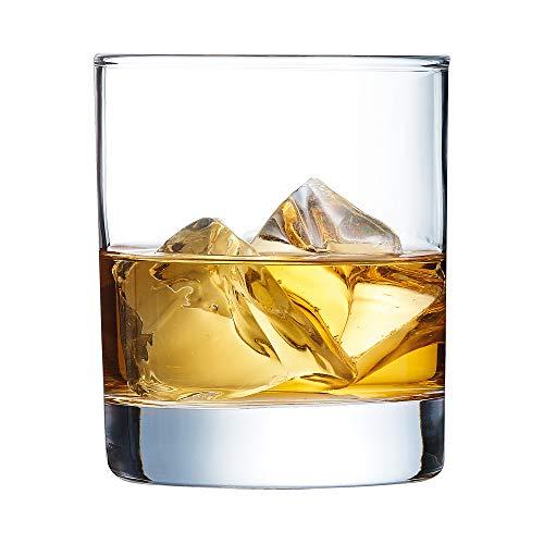 Arcoroc Islande Whiskyglas 300ml, ohne Füllstrich, 6 Stück