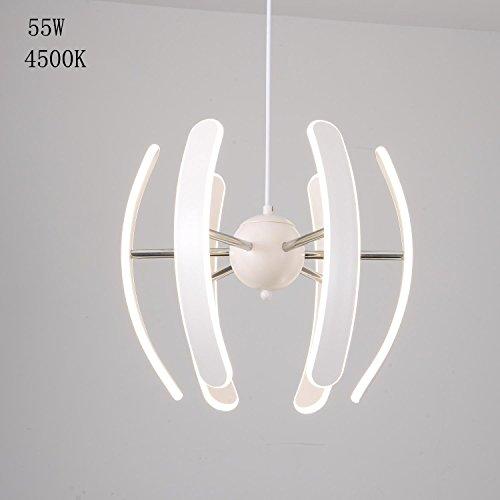 55W LED Pendelleuchte Neutrales Licht Esszimmerlampe Esstischlampe  Wohnzimmerlampe Schlafzimmerlampe Arbeitszimmerlampe Modern.