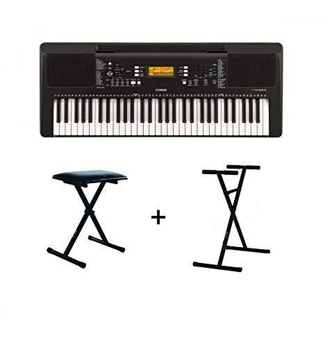 Pack Yamaha PSR-E363 + Banquette + Stand