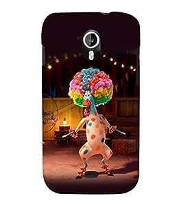 printtech Madagascar Zebra Clown Back Case Cover for Micromax Canvas HD A116::Micromax Canvas HD Plus A116Q