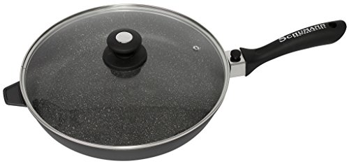 SCHUMANN PROFESSIONNEL SPO2303200 Poêle moove Noir 32 cm, Fonte d'Aluminium/Revêtement