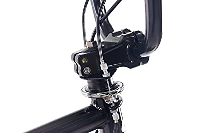 """CHRISSON 20"""" Zoll BMX Fahrrad TRIXER ONE mit 360 Grad Rotor und 4 Pegs inklusive schwarz"""
