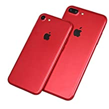 Youmei® New Bright 3D Red Skin Sticker Retour Film de protection Coller Wrap Skin pour iphone 7