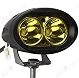 #2: AllExtreme (Dallu_2Led_Pack1_P) Led Driving Light Work Lamp Auxiliary Flood Beam Bulb For Cars 2pcs 4