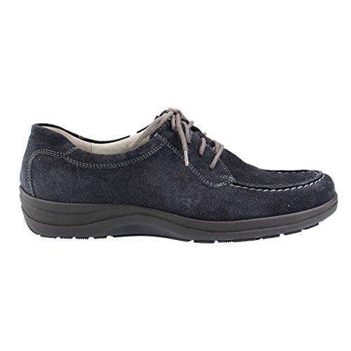WALDLÄUFER - Henda - Damen Halbschuhe - Blau Schuhe in H Weite Blau ( deep blue )