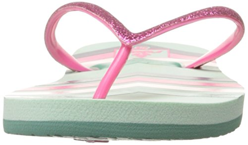 Reef Little Stargazer, Tongs Fille Multicolore (Mint Chevron)