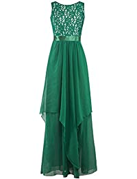 Amazon.it  vestito verde - Aderente   Vestiti   Donna  Abbigliamento 1e0c2e65008